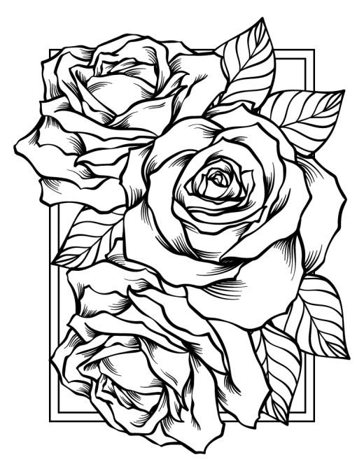 Bonne fête des mères, carte bouquet de roses