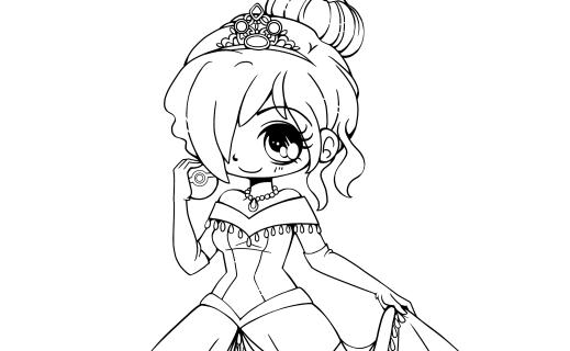 Princesse Amyel par YamPuff chibi Pokemon à dessiner