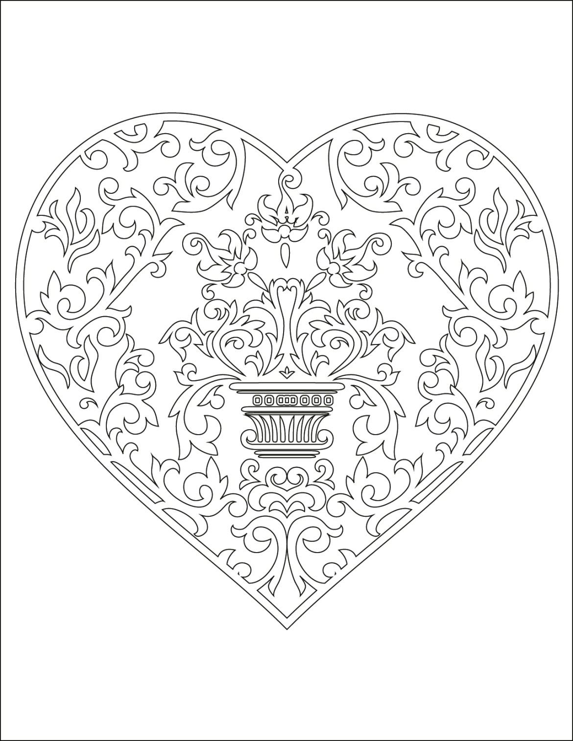 Image de coeur d amour gratuit à dessiner