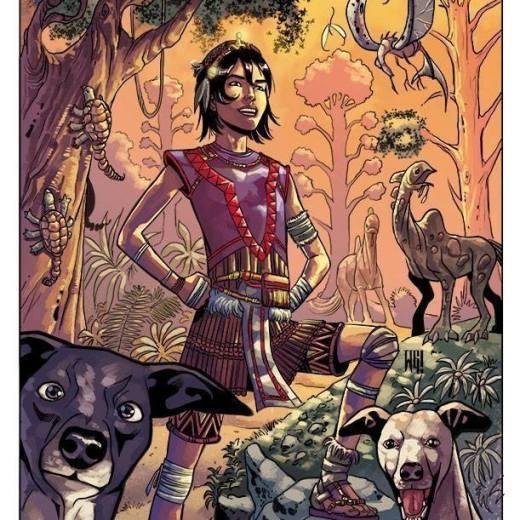 Walter Geovani dessinateur de DC comics
