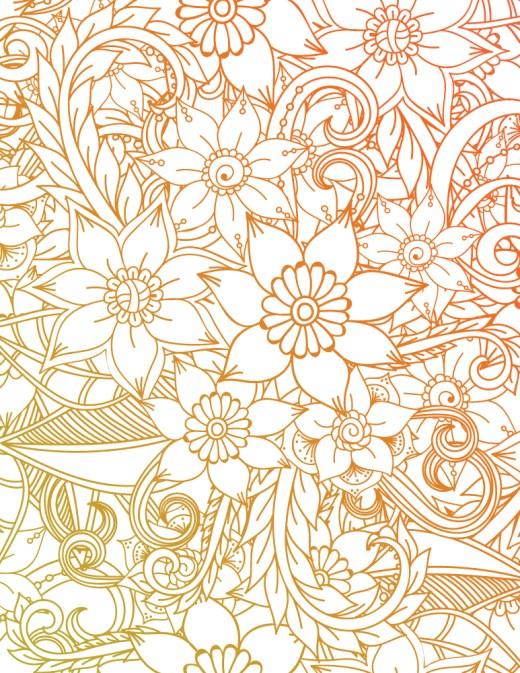 Fleur à colorier et imprimer mandala pour adulte