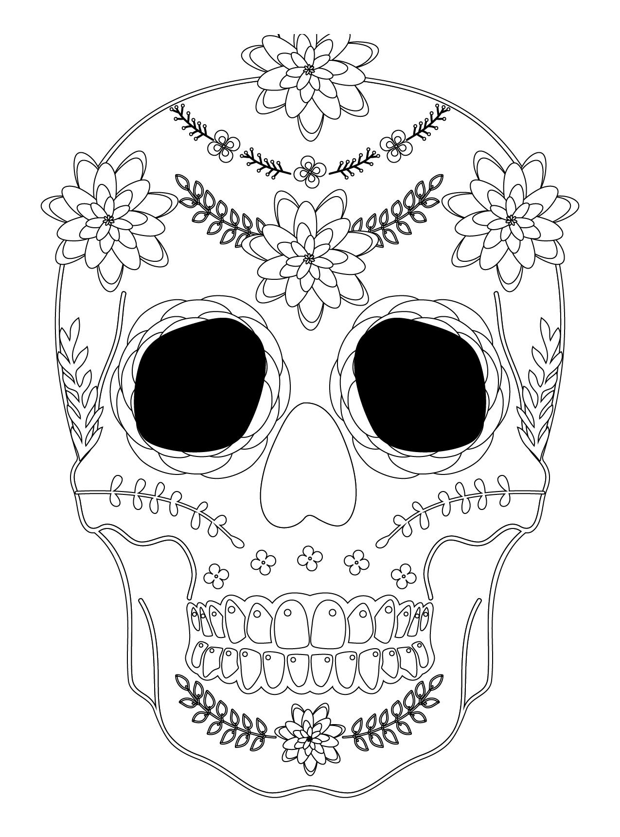 Dessin D'halloween Qui Fait Peur : dessin, d'halloween, Artherapie.ca