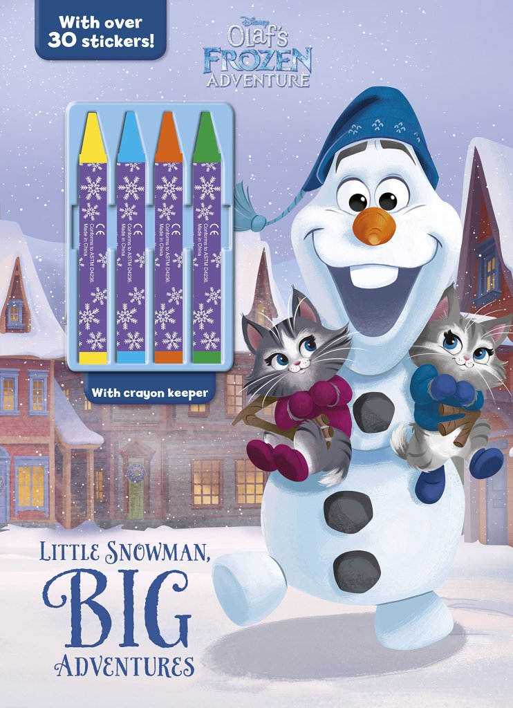 Critique du livre Disney Olaf's Frozen adventure de Parragon