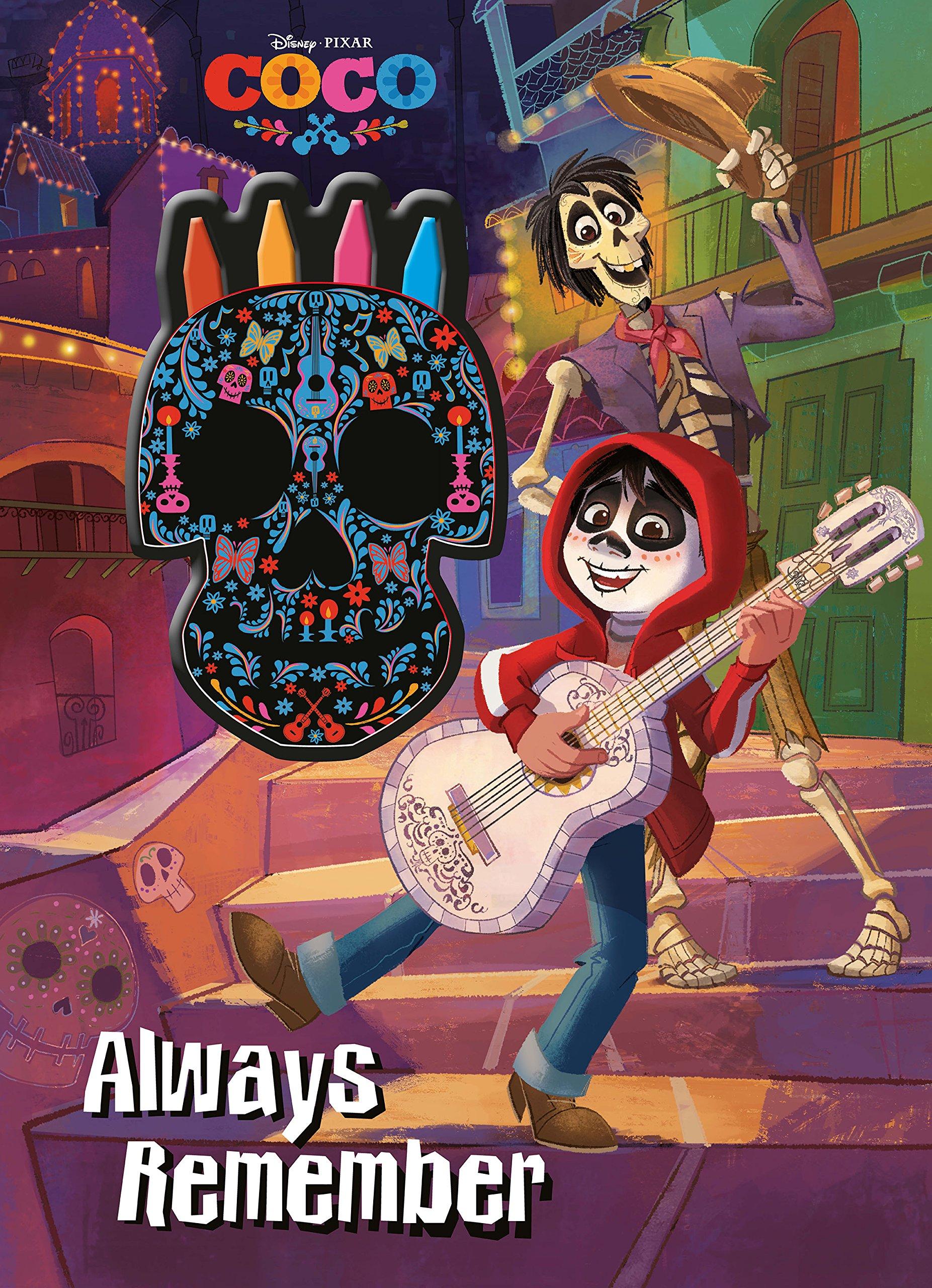 Critique du livre Disney Pixar COCO Always Remember de Parragon