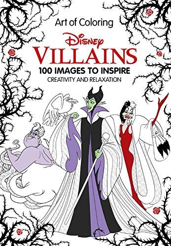 Critique du livre de coloriage Art of Coloring Disney Vilain