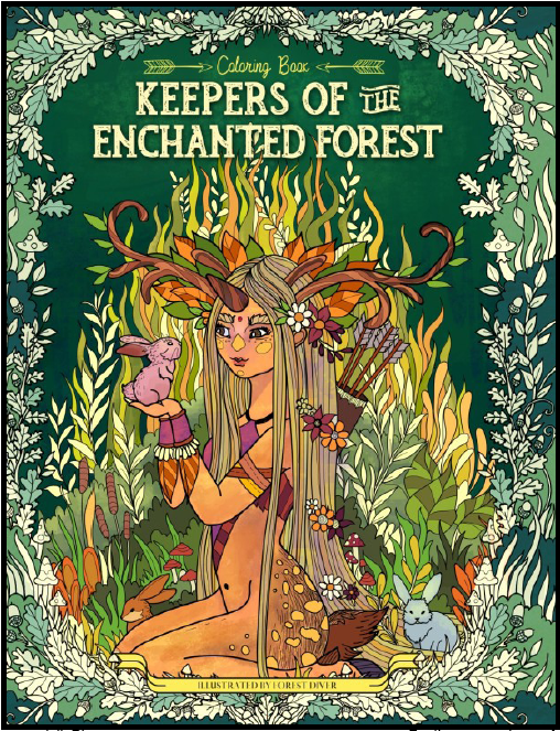 Keeper of the enchanted forest - Julia Rivers
