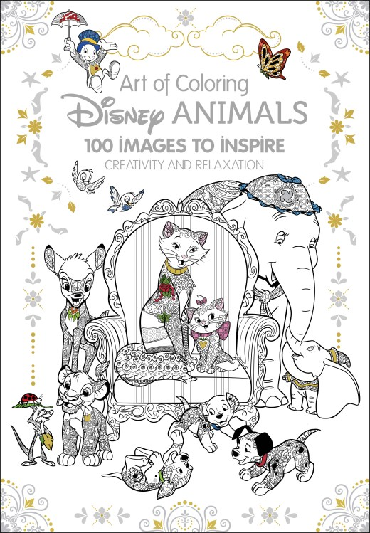 Critique du livre Art of Coloring Disney animals