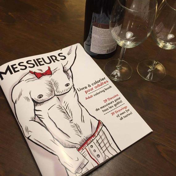 Messieurs, critique d'un livre parfait pour la St-Valentin