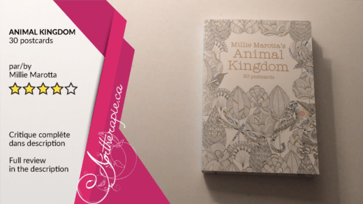 Critique du livret de cartes Animal Kingdom de Millie Marotta