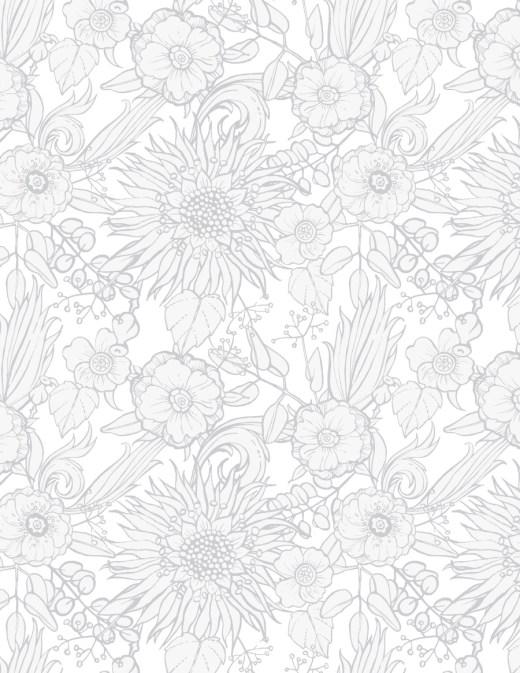 Fleurs gratuites coloriage difficile a imprimer et dessiner
