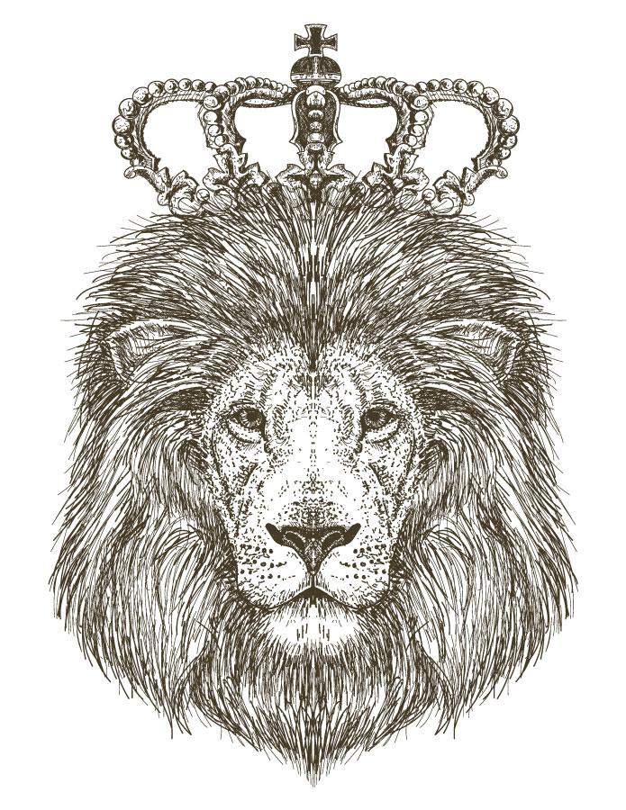Roi Lion Coloriage Pour Imprimer Et Dessiner Artherapie Ca