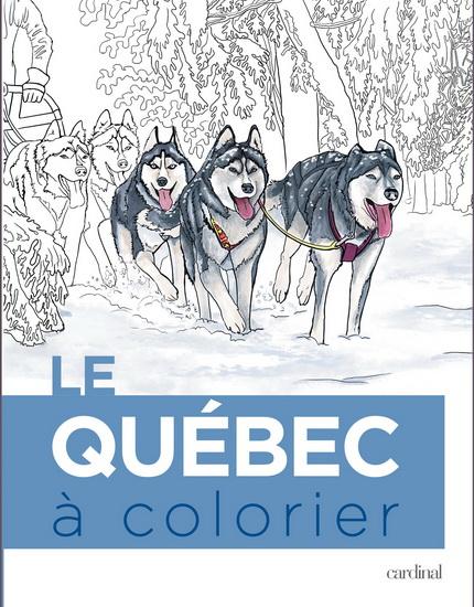 Critique du livre Le Québec à colorier des éditions cardinal