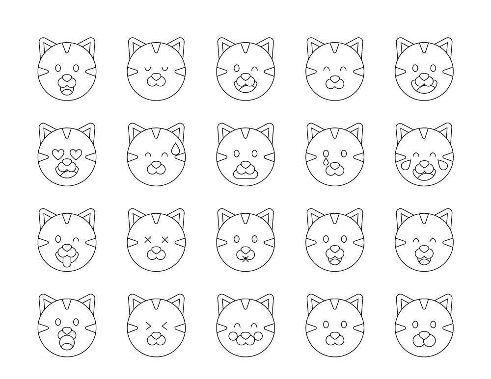 Meilleur En 2019 Coloriage Emoji à Imprimer Coloriages à