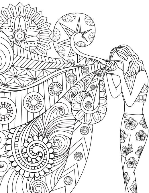 dessin coloriage art thérapie photographie par Bimbimkha