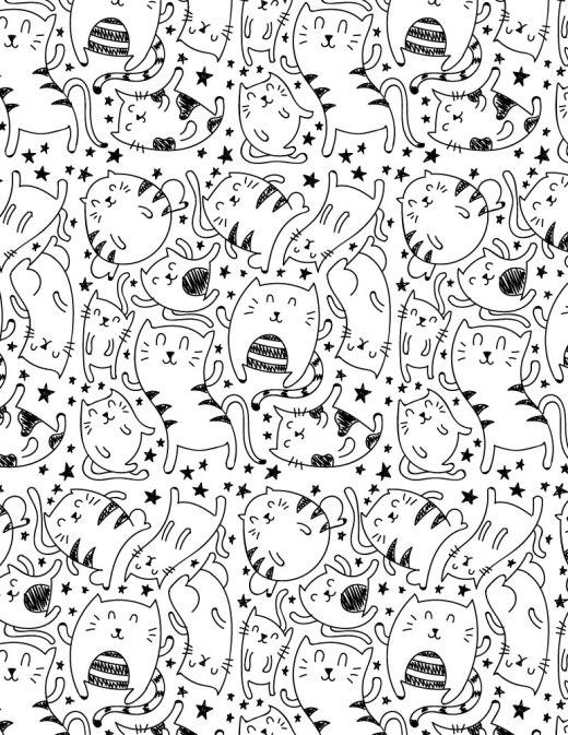 Jeu dessin gratuit art therapie chat pour adulte