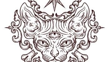 Dessin A Imprimer Pyramide Chat Coloriage Artherapie Ca