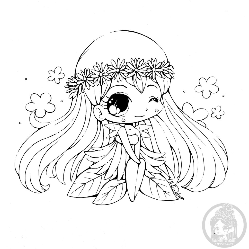 Coloriage Yeux Kawaii.Chibi Kawaii Coloring Pages Par Yampuff Artherapie Ca