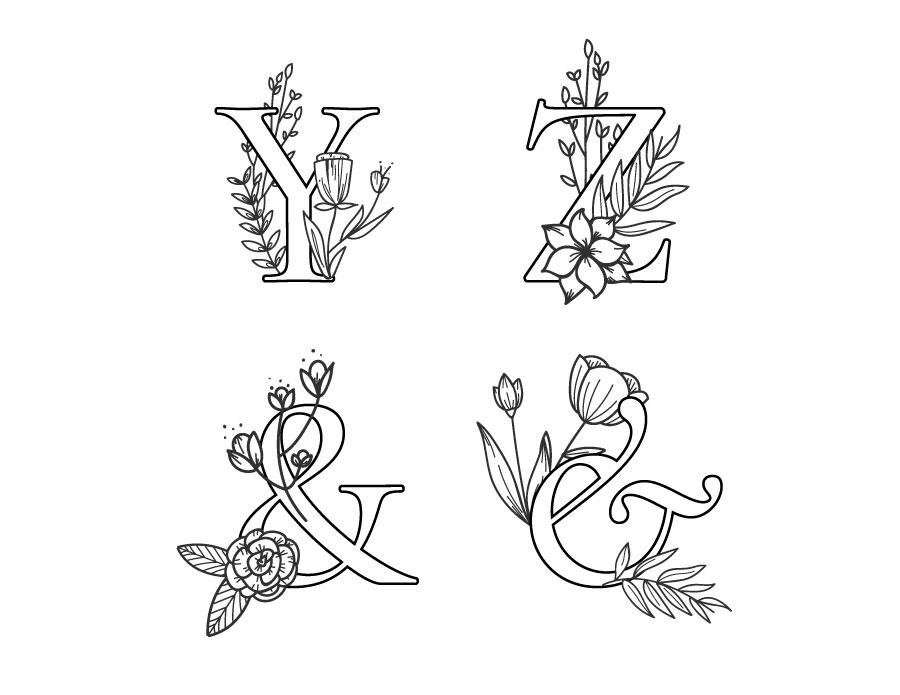 Affiche alphabet imprimer dessin gratuit