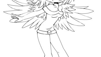 Dessin Coloriage Chat Kawaii Gratuit Artherapieca