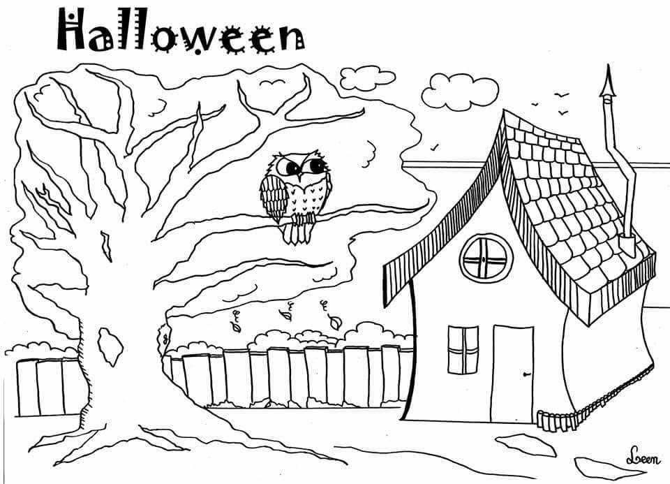 Joyeuse Halloween par Leen Margot