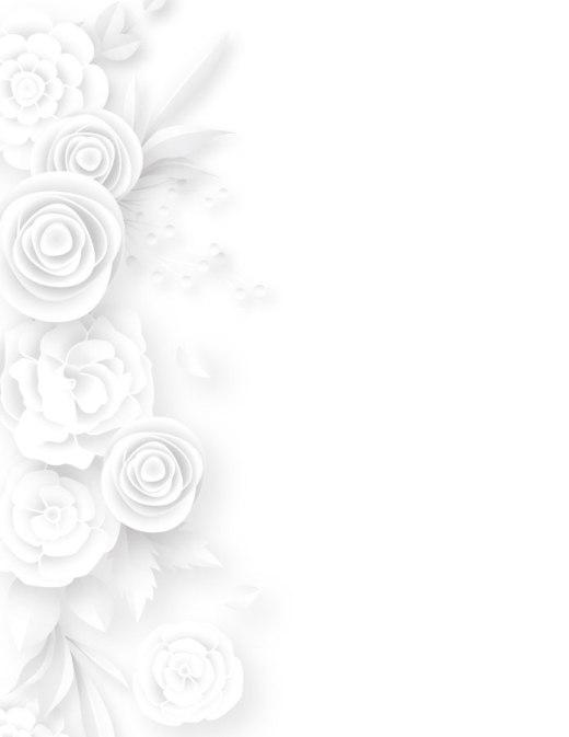 Délicates fleurs page grayscale gratuit