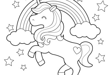 Coloriage fille mon petit poney licorne