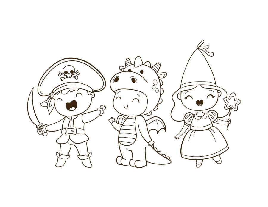 Costumes halloween enfants idées