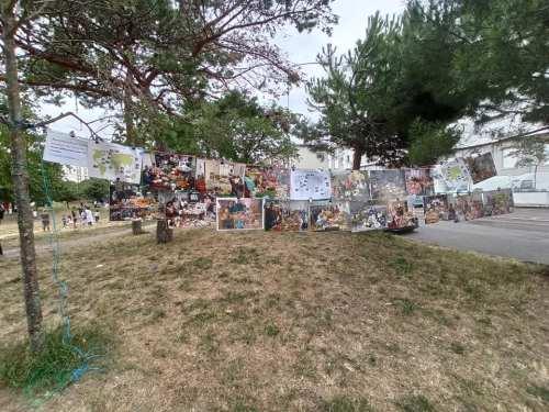 BD – Atelier d'arts plastiques au jardin Meffre du Sanitas à Tours