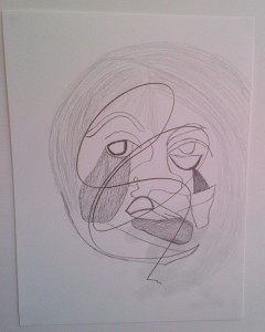 Dessin-n°242 – Autoportrait