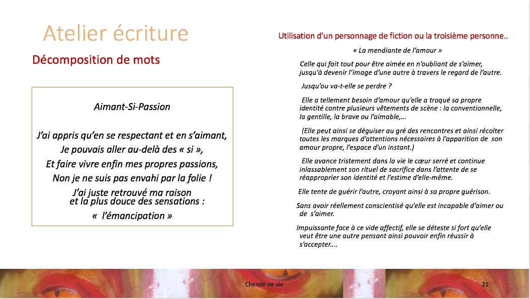 Chemins de vie p.21