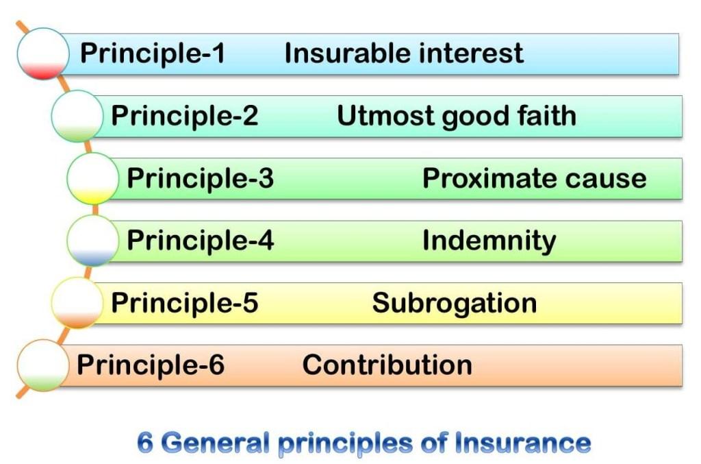 General insurance principles