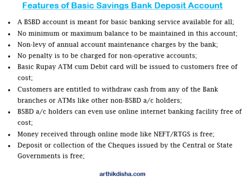 What is BSBD Account