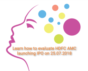 HDFC AMC to launch IPO on 25.07.2018