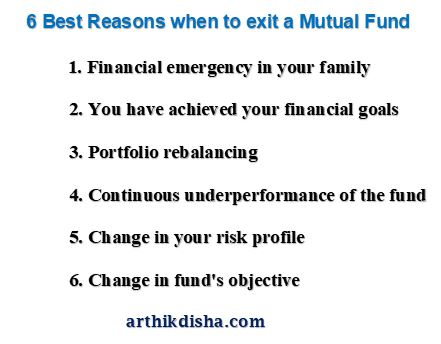 When to exit a Mutual Fund