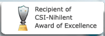 WBiFMS-CSI Nihilent Award of Excellence