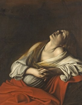 Caravaggio, Mary Magdalene, c. 1606-1610, private collection