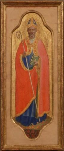 Fra Angelico, St Nicholas of Bari, 1425-30, 35.5 x 14 cm. Photo: Hans G. Scheib, Cologne