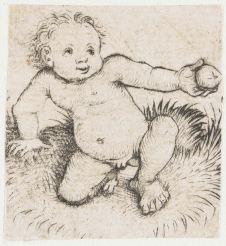 3. Unique impression (ca. 1470), 4.8 x 4.4 cm, Rijksmuseum