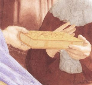Detail from the Pandects, attributed to Lorenzo Lotto