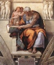 7. Michelangelo, Cumaean Sybil, Sistine Chapel