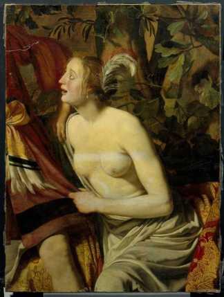 Jan van Bijlert, Venus and Adonis, remaining fragment, Centraal Museum