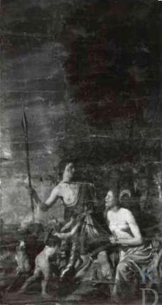 Jan van Bijlert, Venus and Adonis, 1934 photograph in the Centraal Museum