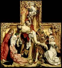 12. Master of the St Bartholomew Altar, the Large Deposition, Louvre