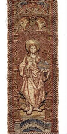 32. Orphrey after a design by Jacob Cornelisz, one of a set of five double orphreys, 1525-34, Catharijneconvent Utrecht