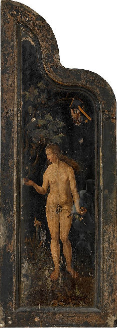 18. Reverse of left wing of Occo Triptych, KMSKA Antwerp