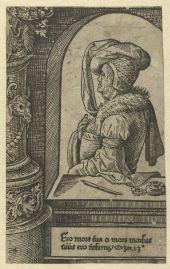 17. The Prophet Hosea, ca. 1523, 15.5×9.6 cm, Rijksmuseum