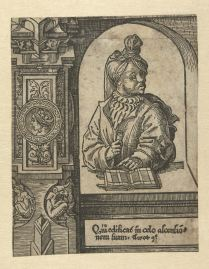 18. The Prophet Amos, ca. 1523, 15.7x12.2cm, Rijksmuseum