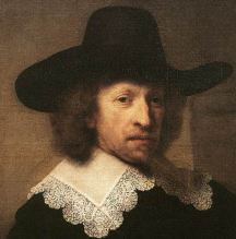 Rembrandt, Portrait of Nicolaes van Bambeeck (detail), 1641, oil on canvas, 109x83 cm, Musées Royaux des Beaux-Arts, Brussels