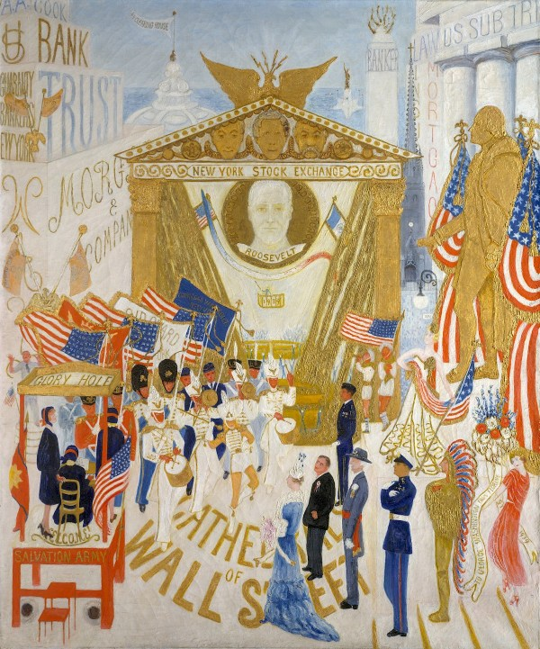 Cathedrals Of Wall Street Florine Stettheimer