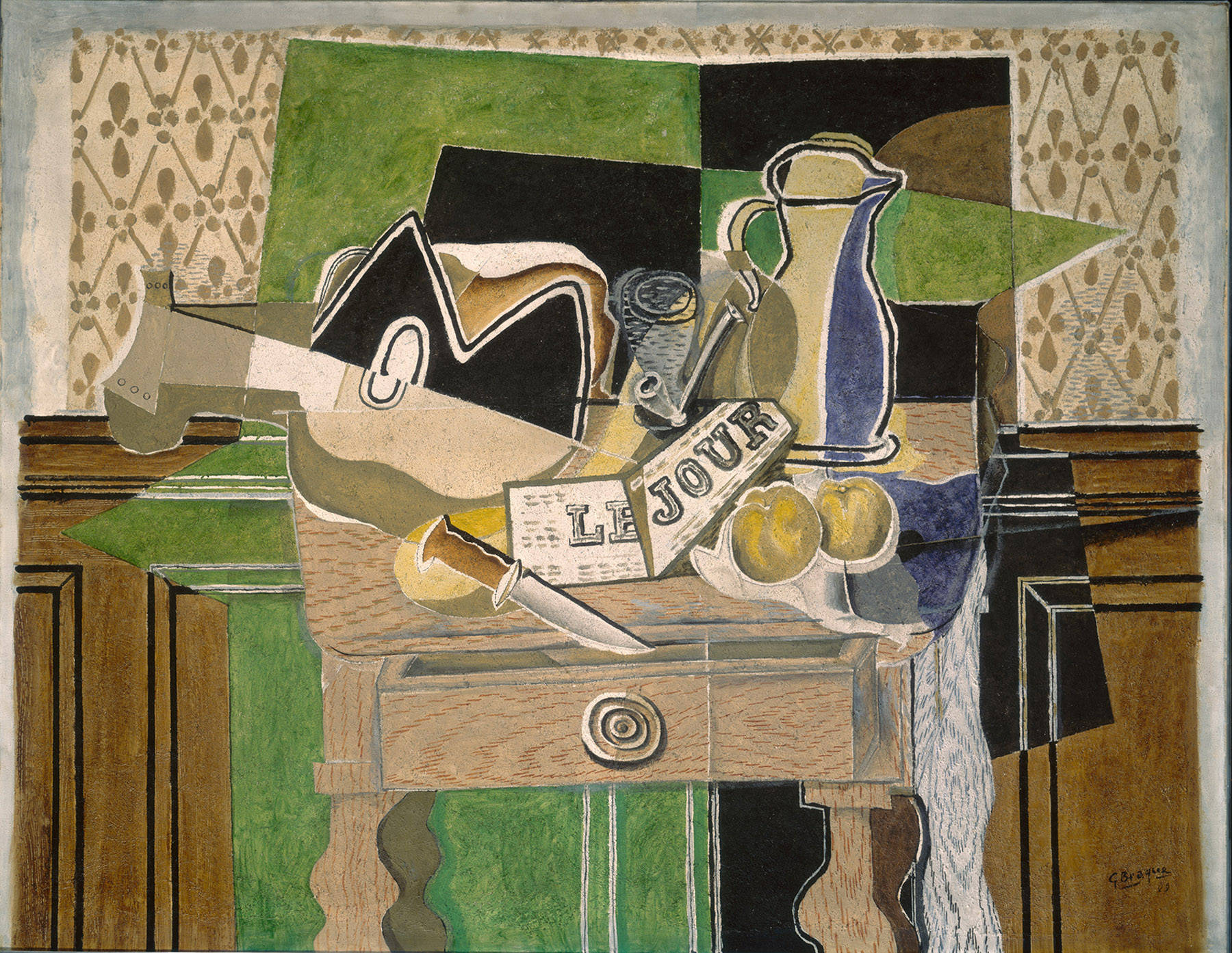 Still Life Le Jour By Georges Braque